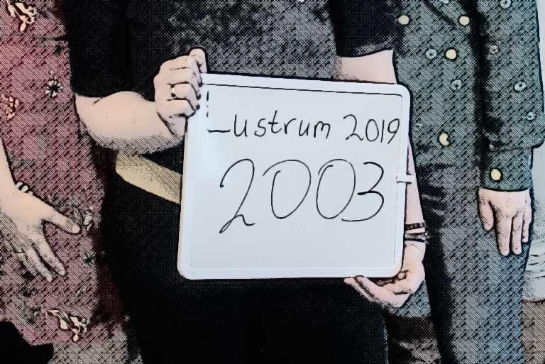 2003 is terecht!